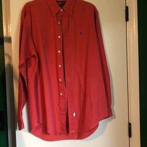 Ralph Lauren men's button down long sleeve shirt